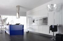 cocina de diseño blanco Humanes