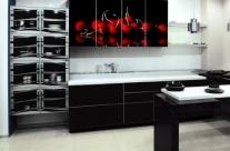 cocina de diseño cerezas Humanes
