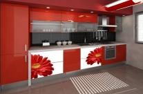 cocina de diseño flores Humanes