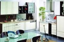 cocina diseño blanco brillo Humanes