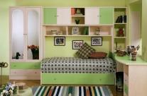 dormitorio juvenil pino dkp-verde Humanes