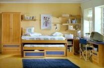 dormitorio juvenil aliso-azul Humanes