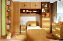 dormitorio juvenil aliso-pistacho Humanes