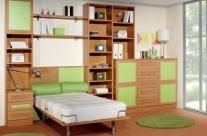 dormitorio juvenil haya-verde Humanes