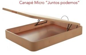 Canapé microfibra